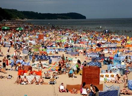 Plaża we Władysławowie/fot. Rafał Frydrych /Agencja SE/East News