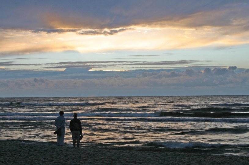 Plaża znika bardzo szybko /Jacek Malkowski /East News