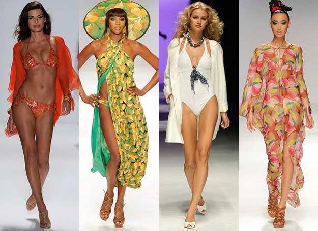 Plażowa moda to nie tylko kostiumy kąpielowe /East News/ Zeppelin