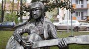 Plenerowa rzeźba Karin Stanek w jej rodzinnym Bytomiu