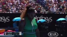 Pliszkova wygrała z Williams w ćwierćfinale Australian Open. Wideo