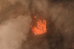 Płonący wieżowiec w Londynie, są ranni