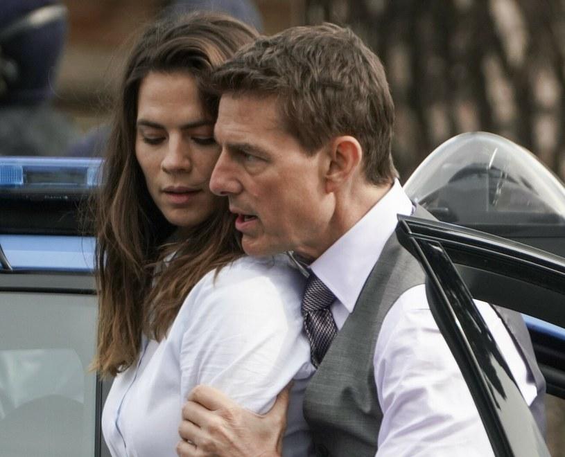 Plotki o rzekomym romansie Toma Cruise'a z Hayley Atwell zostały szybko zdementowane /AP/Associated Press /East News