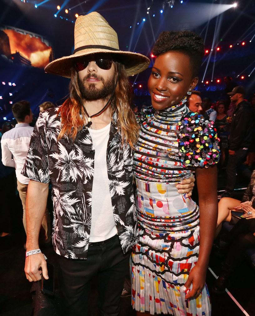 Plotkuje się, że Jared Leto i Lupita Nyong'o są parą /Theo Wargo /Getty Images