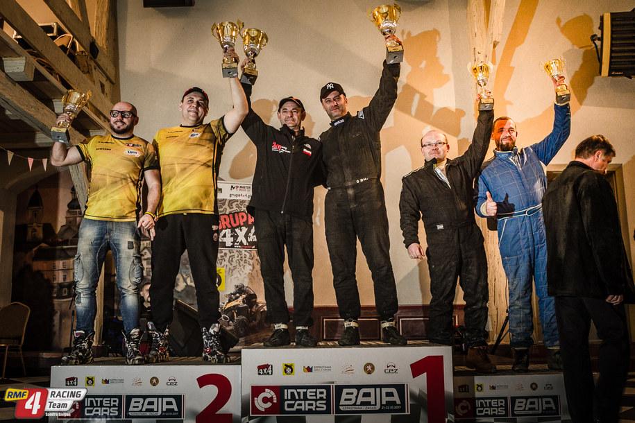 Płuciennik i Szandrowski na podium /RMF 4Racing Team /