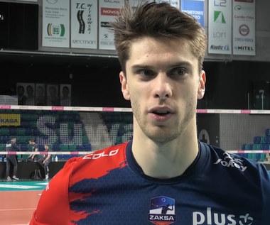 """PlusLiga. Aleksander Śliwka: """"Planowaliśmy dobrze zacząć mecz"""".  Wideo"""
