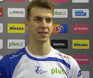 PlusLiga. Artur Szalpuk po meczu VERVA Warszawa - PGE Skra Bełchatów. Wideo