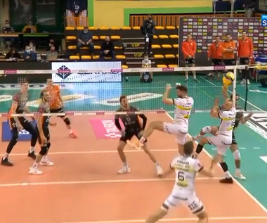 Plusliga: Cerrad Enea Czarni Radom - Cuprum Lubin 3:0. Skrót meczu (POLSAT SPORT). Wideo