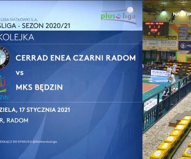 PlusLiga. Cerrad Enea Czarni Radom - MKS Będzin 3-0. Skrót meczu (POLSAT SPORT). Wideo