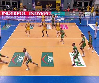 PlusLiga. Efektowna końcówka meczu w wykonaniu Aleksandara Atanasijevicia WIDEO (Polsat Sport)
