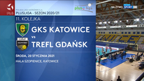 PlusLiga. GKS Katowice – Trefl Gdańsk 3-2. Skrót meczu (POLSAT SPORT). Wideo