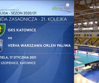 PlusLiga. GKS Katowice - Verva Warszawa 0-3. Skrót meczu (POLSAT SPORT). Wideo