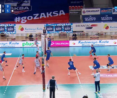 PlusLiga. Grupa Azoty ZAKSA Kędzierzyn-Koźle – Verva Warszawa Orlen Paliwa  3:0. Skrót meczu (POLSAT SPORT). Wideo