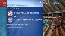 PlusLiga. Indykpol AZS Olsztyn - Asseco Resovia Rzeszów 3:1. Skrót meczu (POLSAT SPORT). Wideo