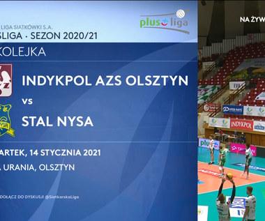 PlusLiga. Indykpol AZS Olsztyn – Stal Nysa 3-1. Skrót meczu (POLSAT SPORT). Wideo