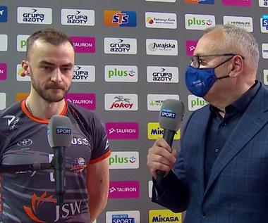 PlusLiga. Jakub Bucki: Jeszcze niczego nie wygraliśmy (POLSAT SPORT). Wideo