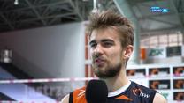 """PlusLiga. Jakub Popiwczak: Nie jesteśmy faworytem, ale możemy """"namieszać"""" (POLSAT SPORT). Wideo"""
