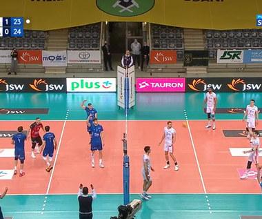 PlusLiga. Jastrzębski Węgiel – Verva Warszawa Orlen Paliwa 3:2. Skrót meczu. Wideo