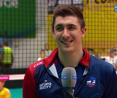 PlusLiga. Łukasz Kaczmarek (ZAKSA): Wygrywanie nigdy nie jest nudne (POLSAT SPORT). Wideo
