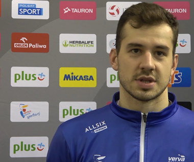 PlusLiga. Michał Superlak po meczu VERVA Warszawa - PGE Skra Bełchatów. Wideo