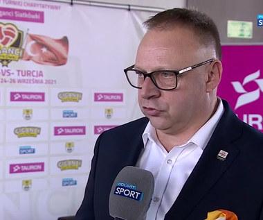 """PlusLiga. Prezes Jastrzębskiego Węgla: Turniej """"Giganci Siatkówki"""" to dla nas prestiż (POLSAT SPORT). Wideo"""
