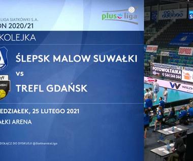 PlusLiga. Ślepsk Malow Suwałki - Trefl Gdańsk 3:1. Skrót meczu (POLSAT SPORT). Wideo