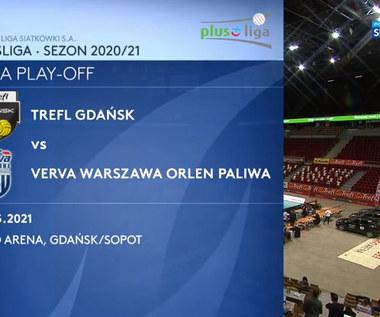 PlusLiga. Trefl Gdańsk – Verva Warszawa Orlen Paliwa 3:1. Skrót meczu (POLSAT SPORT). Wideo