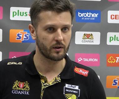 PlusLiga. Trener Michał Winiarski (Trefl Gdańsk) po meczu z VERVĄ. Wideo