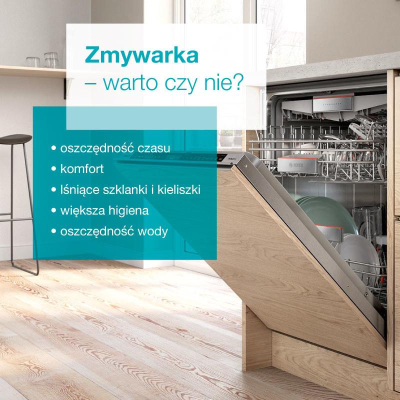 Plusy i minusy posiadania zmywarki w domu /materiały promocyjne