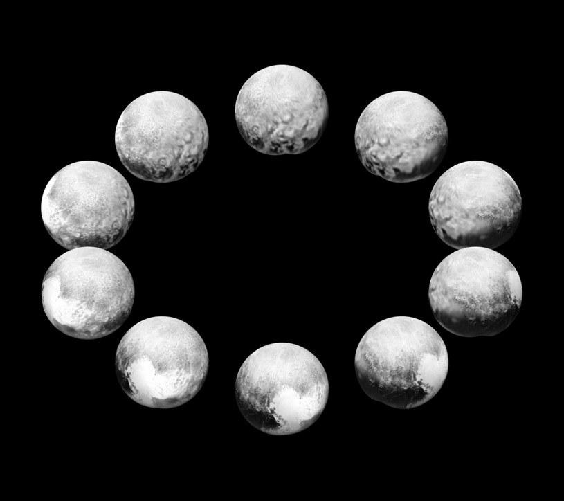 Pluton przez całą dobę /NASA