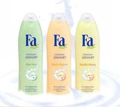 Płyny do kąpieli z serii Fa Yoghurt /materiały prasowe