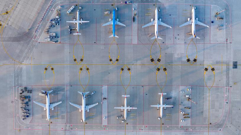 Płyta postojowa (widok z drona). Fot. Fotoair /Informacja prasowa