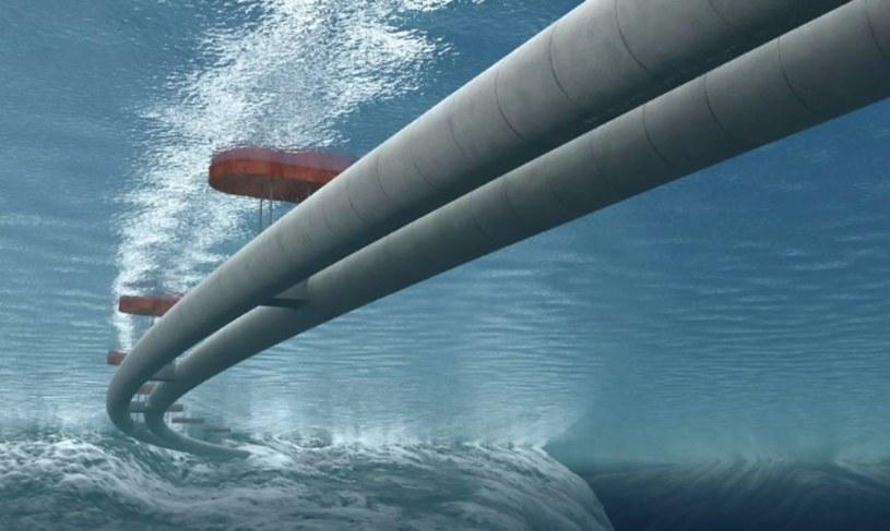 Pływające tunele w Norwegii mają pojawić się przed 2035 r. /materiały prasowe