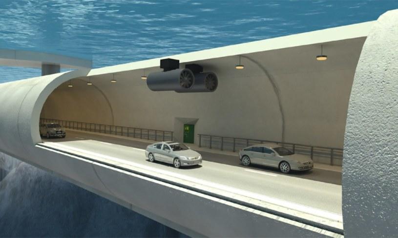 Pływające tunele w Norwegii /materiały prasowe