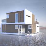 Pływający dom dla rozwodników