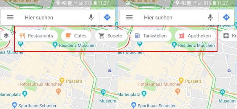 Pływający pasek wyszukiwania. Fot. Androidpolice. /materiał zewnętrzny
