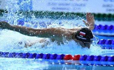 Pływak Konrad Czerniak: Trenuję w domu, ale ciężko w ten sposób polepszać swoje osiągnięcia w wodzie