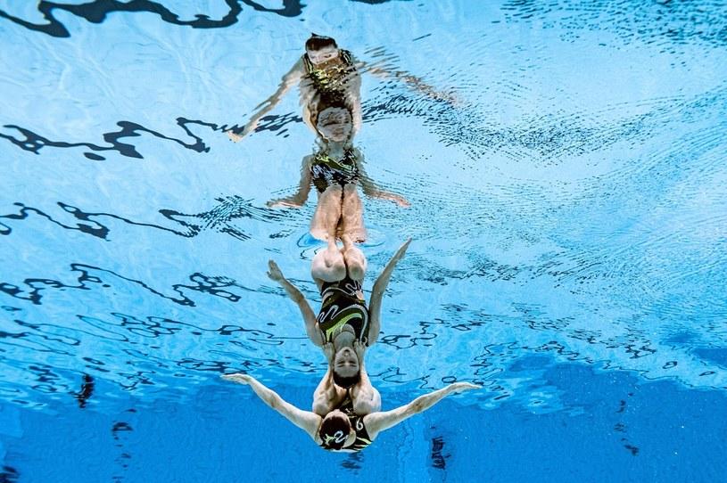 Pływanie artystyczne /FRANCOIS XAVIER MARIT /AFP