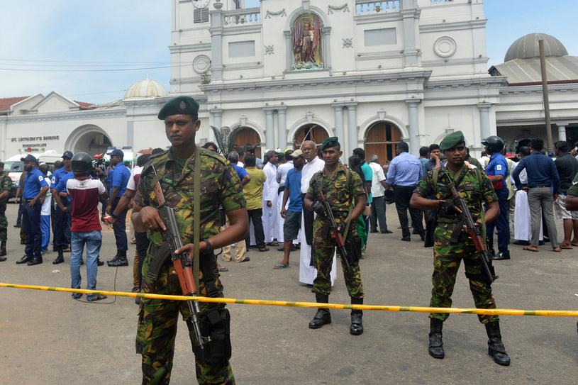 Po atakach w Niedzielę Wielkanocną /Ishara S. KODIKARA  /AFP