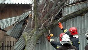 Po burzach kilkaset interwencji strażaków