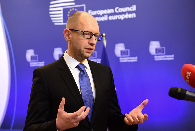 PO chce bliżej współpracować z Frontem Ludowym premiera Jaceniuka /AFP