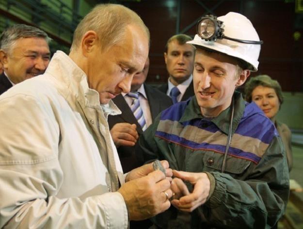 Po co Putinowi brylanty? /AFP
