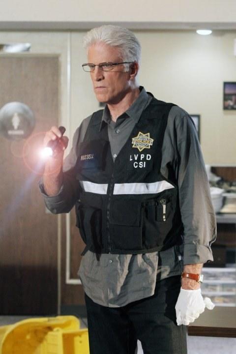 """Po dwóch sezonach Ted Danson wreszcie odnalazł się w roli D. B. Russella, szefa jednostki. – Początkowo czułem, jakbym oszukiwał. Jorja, George, Eric, są współautorami wieloletniego sukcesu serialu – mówi Danson, który korzystając z przerwy zdjęciowej zagra w serialu """"Fargo"""". /materiały prasowe"""