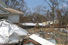 """Po huraganie """"Katrina"""". Archiwalne zdjęcia"""