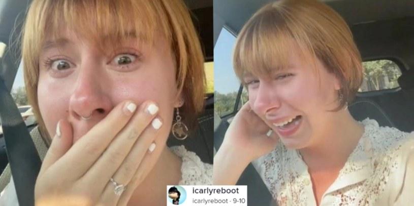 Po kosztownej metamorfozie TikTokerka była załamana. Fryzjer zmienił kolor jej włosów na rudy /@icarlyreboot /TikTok