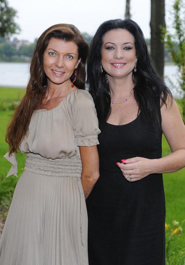 Po lewej - Katarzyna Kalicińska, pierwsza żona Roberta, fot. VIPHOTO  /East News