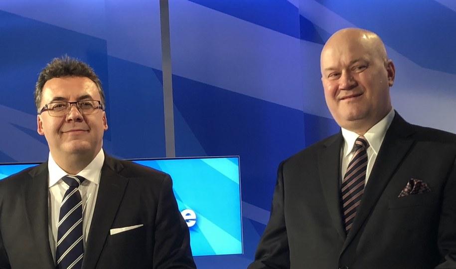 Po lewej: prof. Robert Rejdak, po prawej - prof. Marek Rękas /Archiwum prywatne /