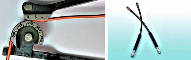 PO LEWEJ Sztywne przewody stalowe zastępuje się wygodnymi w dorabianiu miedzianymi (cena od 30 zł). PO PRAWEJ Zakuwane przewody metalowo-gumowe można dorobić na wzór lub kupić gotowe (cena od 40 zł). /Motor