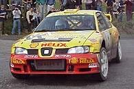 Po Łukaszu Sztuce i Januszu Kuligu za kierownicą żółtej Cordoby WRC zasiądzie Krzysztof Hołowczyc /INTERIA.PL