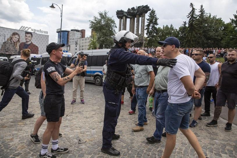 Po Marszu Równości w Białymstoku policja ustaliła już tożsamość 72 osób /MAREK MALISZEWSKI/REPORTER /Reporter